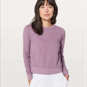 💜NWOT Lululemon Every Moment Crew Sweatshirt